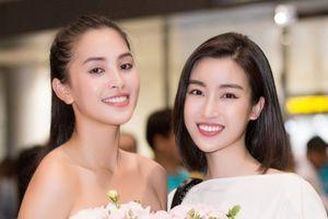 Hoa hậu Mỹ Linh đón Tiểu Vy trở về từ Miss World 2018