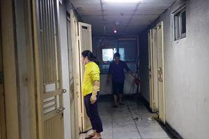Hiện trường vụ cháy tầng 31 chung cư Linh Đàm khiến 1 phụ nữ tử vong