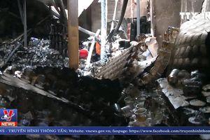 Nhiều tiểu thương thiệt hại nặng sau vụ cháy gần chợ Vinh