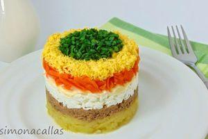Những món salad đặc biệt 'gây thèm' trên quê mẹ cầu thủ Lâm Tây