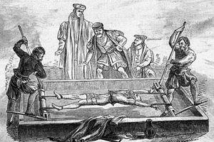 Tận mục phương pháp tra tấn tàn bạo nhất thời Trung cổ