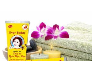 Đình chỉ lưu hành sản phẩm sữa rửa mặt sáng da ngừa mụn Ever today 50ml