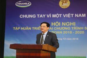 Tập huấn triển khai Đề án sữa học đường Hà Nội thể hiện sự đồng lòng vì một Việt Nam vươn cao