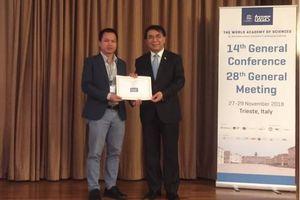 Tiến sĩ 'rắn' của Việt Nam trở thành thành viên trẻ của Viện Hàn lâm Khoa học thế giới