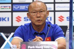 HLV Park Hang Seo: 'Các học trò của tôi đã quá quen với sức ép lớn'