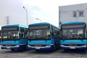 Thay áo mới cho 4 tuyến buýt của Hà Nội