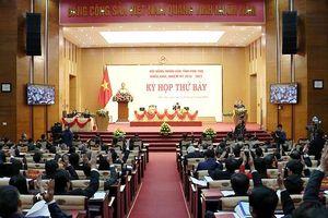 Phó Chủ tịch Quốc hội Đỗ Bá tỵ dự khai mạc Kỳ họp thứ 7 hđnd tỉnh Phú Thọ khóa xviii