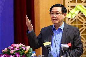 Phó TT Vương Đình Huệ: Nhiều Bộ chưa ban hành chế độ báo cáo thống kê