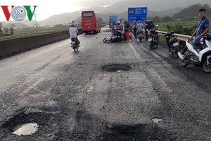 Sập ổ gà trên Quốc lộ 1A, 1 người chết tại chỗ