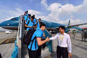 Vietnam Airlines đưa máy bay thân rộng hiện đại đón các cầu thủ bóng đá về nước