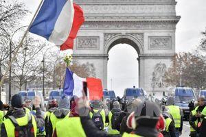 Hơn 1.700 đối tượng bị bắt giữ trong đợt biểu tình thứ tư tại Pháp