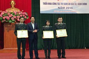 Hà Nội: Hoàn thành 76,54% chỉ tiêu thi hành án dân sự