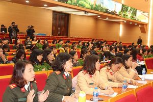 Nâng cao kiến thức về giới, chăm sóc sức khỏe sinh sản cho hội viên phụ nữ Công an Hà Nội