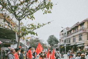 Hội An: Diễu hành cổ vũ đội tuyển Việt Nam