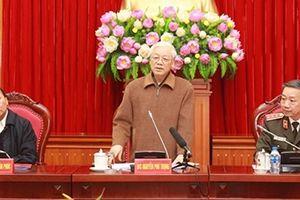 Đảng ủy CATƯ cho ý kiến tổng kết công tác Đảng năm 2018
