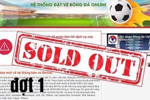 Vé xem trận chung kết lượt về AFF Cup 2018: Mập mờ bán vé online