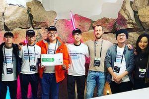 Đại diện Việt Nam thắng lớn tại hạng mục Blockchain ở Junction 2018