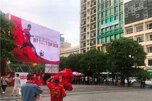 Cận cảnh hệ thống màn hình Led 'khủng' phục vụ người hâm mộ Sài Gòn