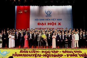 Bế mạc Đại hội đại biểu toàn quốc Hội Sinh viên Việt Nam lần thứ X, nhiệm kỳ 2018-2023