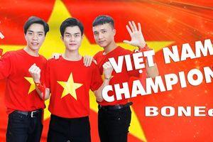 AFF Suzuki Cup 2018: Cổ động viên Việt Nam hát vang ca khúc mới 'Vietnam Champions'