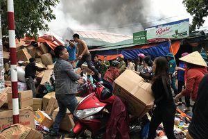 Cháy chợ Vinh - Những lần tiểu thương 'trắng tay'
