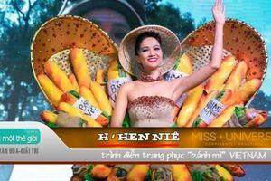 H'Hen Niê gây náo nhiệt tại Miss Universe 2018 bằng trang phục 'bánh mì'