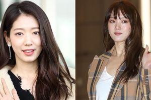 Park Shin Hye và Lee Sung Kyung đọ sắc tại sân bay