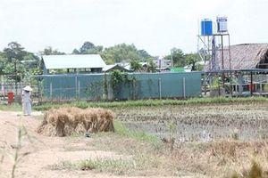TP.HCM tháo dỡ phần vi phạm trật tự xây dựng tại Green Park