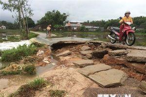 Bình Định thiệt hại nặng nề sau hai ngày ngập lụt trên diện rộng