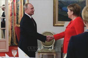 Tổng thống Nga điện đàm nhiều vấn đề 'nóng' với Thủ tướng Đức