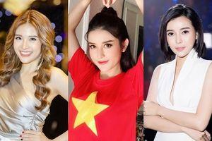 Á hậu Huyền My, Hoa hậu Phan Hoàng Thu gửi lời nhắn tới thầy trò HLV Park Hang-seo