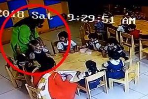 Giáo viên mầm non dán băng dính vào miệng học sinh mất trật tự