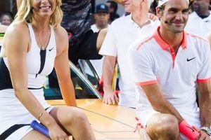 Sharapova hé lộ lý do 'mê mẩn' Federer