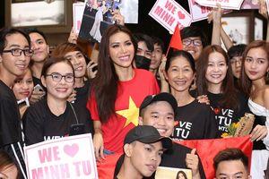 HOT: Vừa về đến Việt Nam, Minh Tú đã hòa vào cùng 'màu cờ sắc áo', sẵn sàng 'quẩy nhiệt' cùng khán giả
