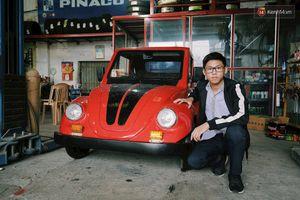 Học sinh lớp 11 Nam Định khiến nhiều người ngưỡng mộ vì tự tay chế tạo ô tô