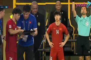 Vào sân 'sửa sai' cho Đức Chinh nhưng Công Phượng vẫn không thể đưa đội tuyển Việt Nam thoát khỏi một trận hòa