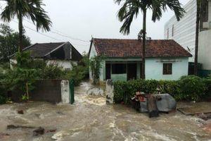 Bộ Công an chỉ đạo ứng phó với mưa lũ hoành hành tại miền Trung