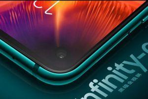Samsung trình làng smartphone có màn hình đục lỗ đầu tiên