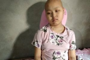 Hoàn cảnh đáng thương của cô bé dân tộc Sán Dìu mắc bệnh ung thư