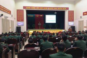 Đảng ủy Binh chủng Tăng thiết giáp tổ chức Hội nghị học tập, quán triệt, triển khai thực hiện Nghị quyết Hội nghị Trung ương 8, khóa XII