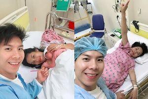 Vừa lập kỷ lục Guinness thế giới, Quốc Nghiệp hạnh phúc đón con gái chào đời