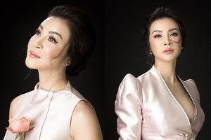 MC Thanh Mai diện áo xẻ sâu, gợi ý mặc đẹp cho những buổi tiệc cuối năm