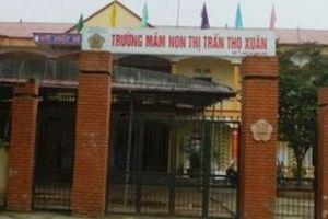 Thanh Hóa: Bé trai tử vong bất thường sau giấc nghỉ trưa ở trường