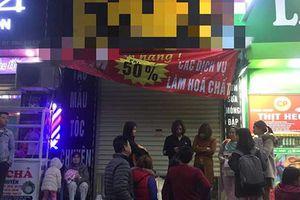 Vụ khói đen bốc ra từ chung cư Linh Đàm: Nữ chủ tiệm làm tóc tử vong