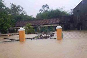 Nhiều nơi ở Quảng Nam vẫn bị ngập, chiều nay hồ Phú Ninh xả lũ