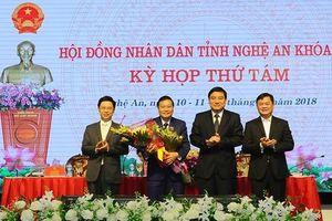 Ông Lê Hồng Vinh được bầu làm Phó Chủ tịch tỉnh Nghệ An