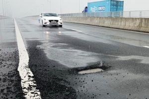 VEC thừa nhận cao tốc Đà Nẵng - Quảng Ngãi tiếp tục bị hư hỏng