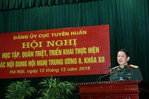 Quán triệt, triển khai thực hiện các nội dung Hội nghị Trung ương 8 (Khóa XII) của Đảng