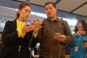 Apple bị cấm bán iPhone đời cũ ở Trung Quốc
