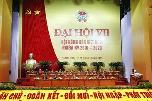 Khai mạc Đại hội Hội Nông dân Việt Nam lần thứ VII
